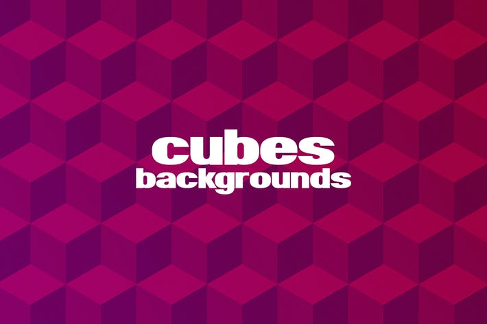 Thumbnail for Cubes Backgrounds