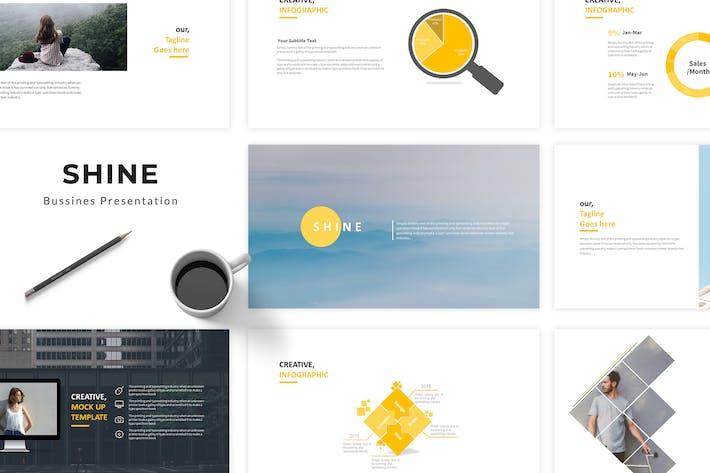 Cover Image For Shine Google Slides Presentation