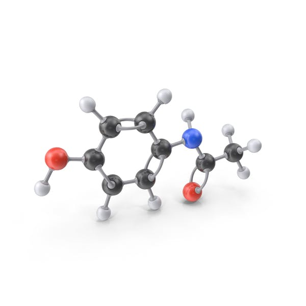 Thumbnail for Молекула парацетамола