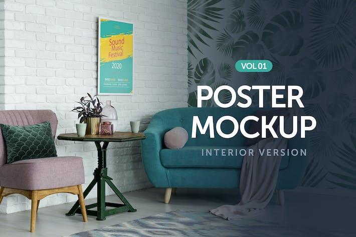 Thumbnail for Poster Mockup Vol 1.0