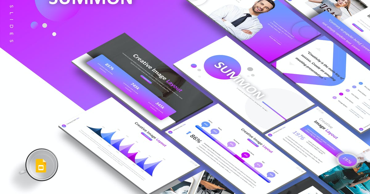Summon - Google Slides Template by Unknow