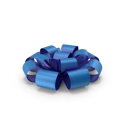 Ribbon Bow Gift Box Blue