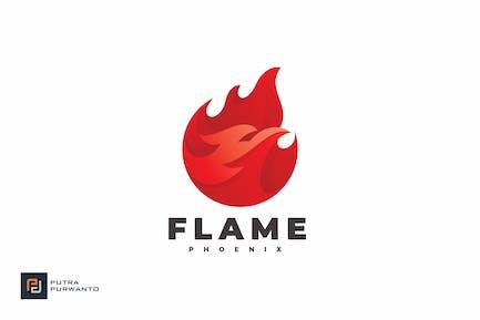 Flame Phoenix - Logo Template