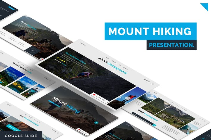 Thumbnail for Mount Hiking - Google Slides Template
