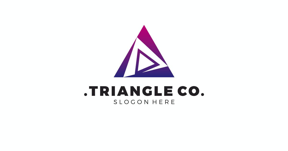 Download Abstract Triangle Logo by graphix_shiv