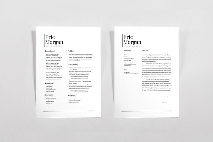 Thumbnail for Resume & Letterhead