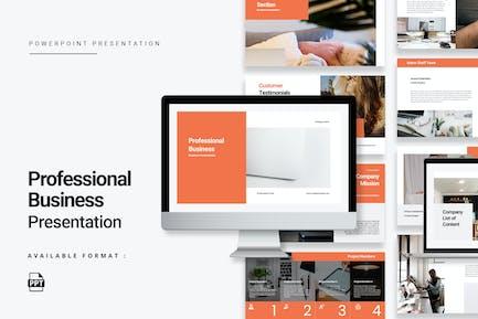 Minimalist Professional Business Presentation