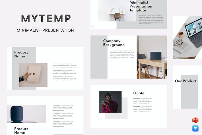Thumbnail for Mytemp - Минималистская презентация v2