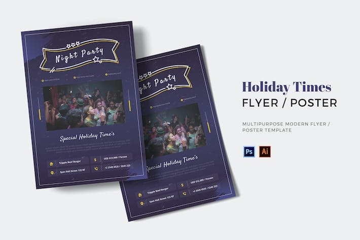 Holiday Times Flyer