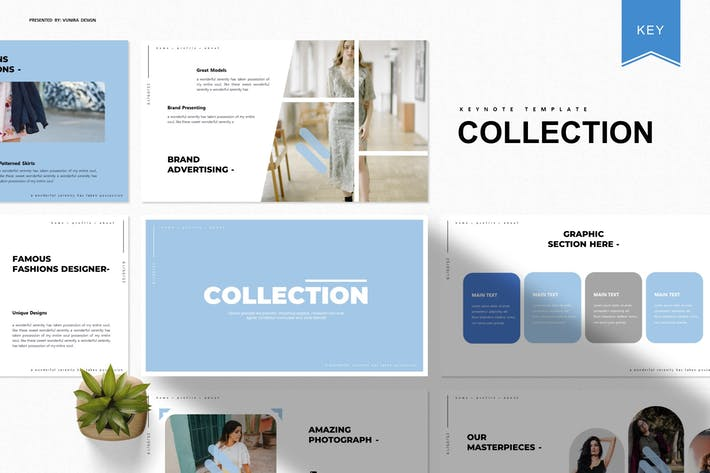 Thumbnail for Collection | Keynote Template