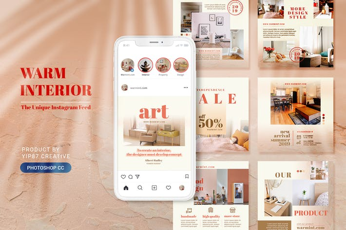 Cover Image For Furniture and Interior Design Social Media Post