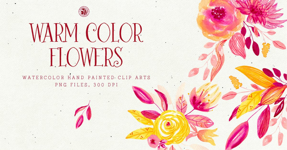 Download Warm Color Flowers by Webvilla