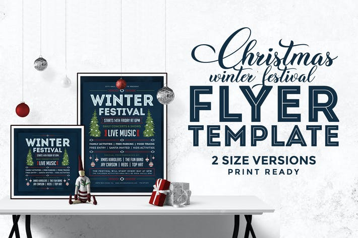 Cover Image For Christmas Flyer Template Vol.3