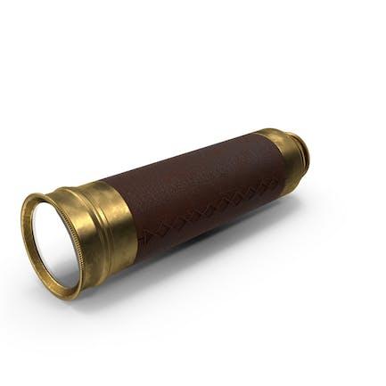 Old Brass Teleskop Spyglass