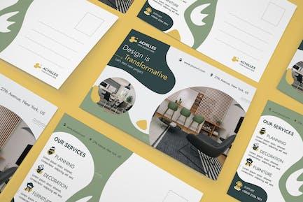 Architecture & Interior Designer Postcard