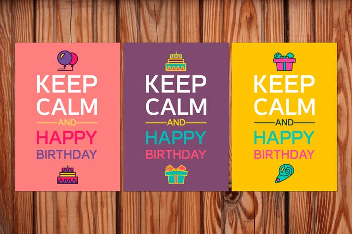 Thumbnail for Keep Calm And Happy Birthday