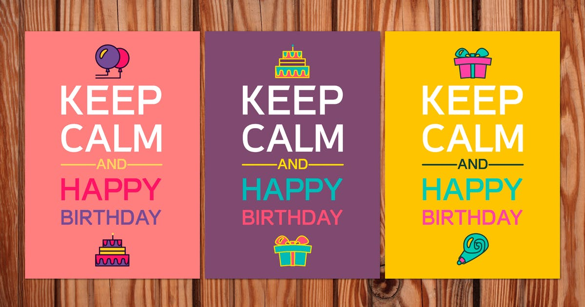 Download Keep Calm And Happy Birthday by barsrsind