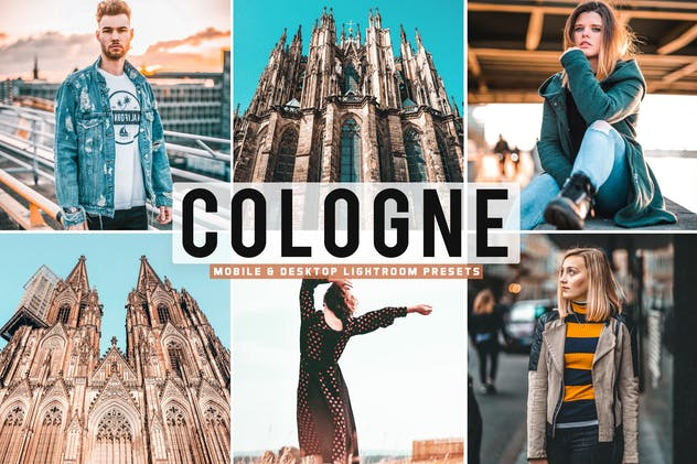 Cologne Mobile & Desktop Lightroom Presets