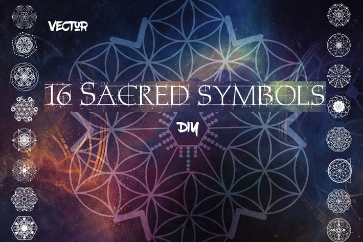 Thumbnail for 16 Sacred symbols