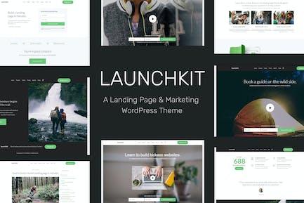 Launchkit Landing Página & Marketing Tema de WordPress