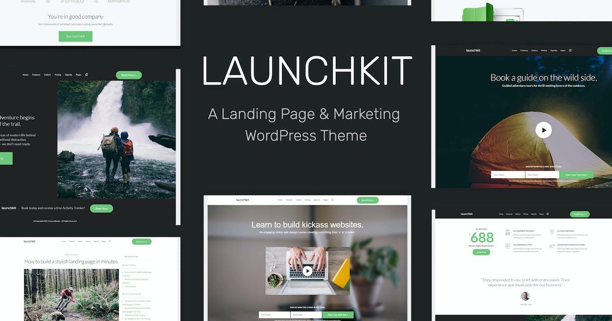 Download Launchkit Landing Page & Marketing WordPress Theme by tommusrhodus