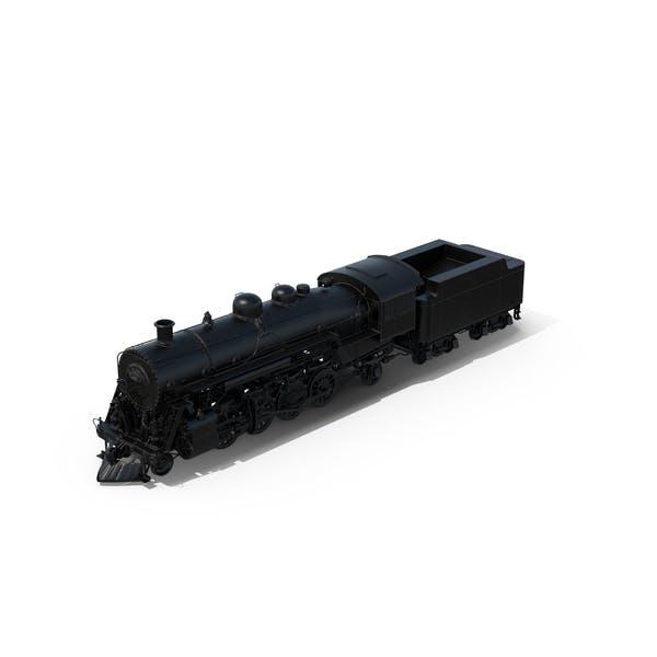 Thumbnail for Black Steam Locomotive
