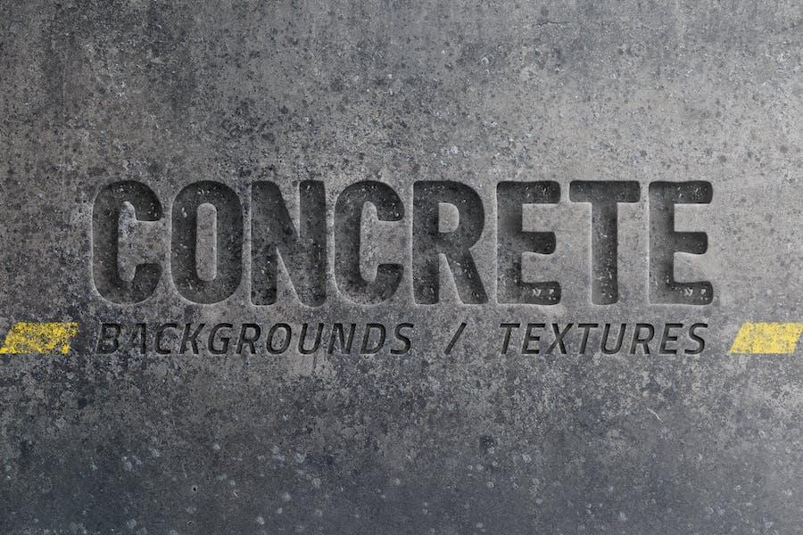 20 BetonHintergründe/Texturen