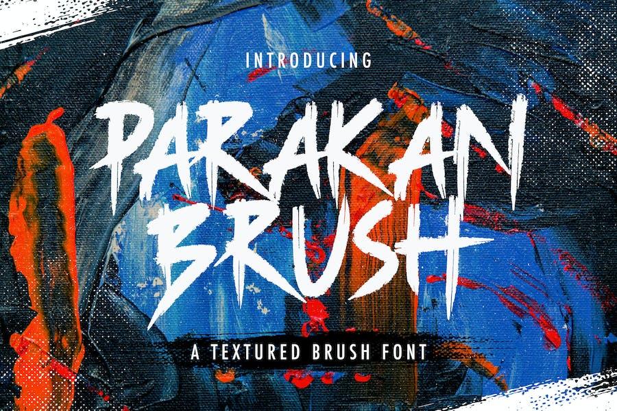 Parakan Brush - Brush Display Font