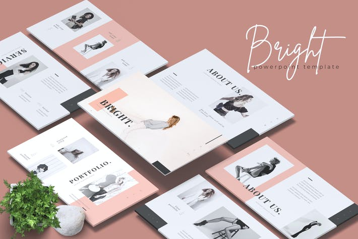 Thumbnail for BRIGHT - Fashion Powerpoint Template