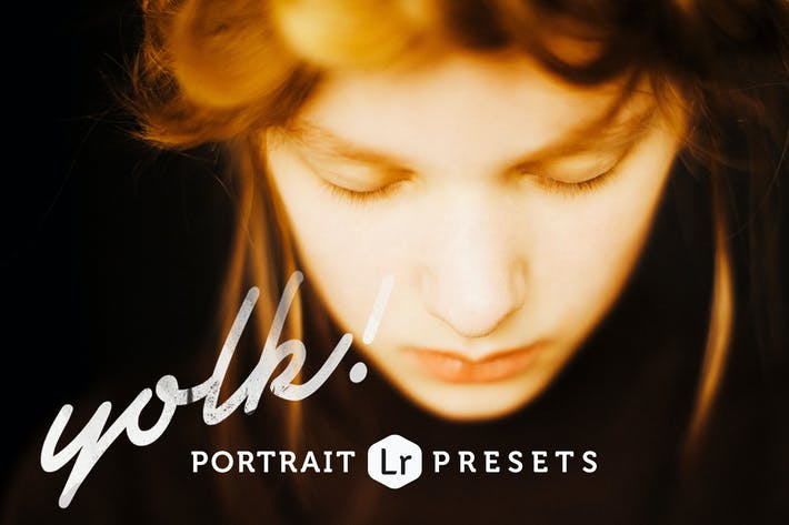 Thumbnail for Yolk Portrait Lightroom Presets
