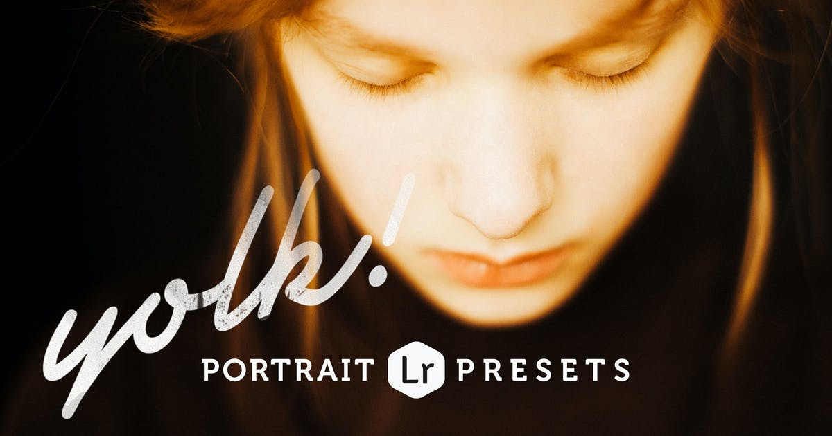 Download Yolk Portrait Lightroom Presets by Presetrain