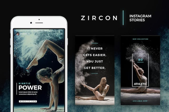 Thumbnail for Zircon - Instagram Story Templates
