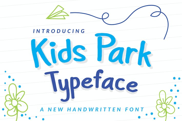 Thumbnail for Kids Park - Playful Font