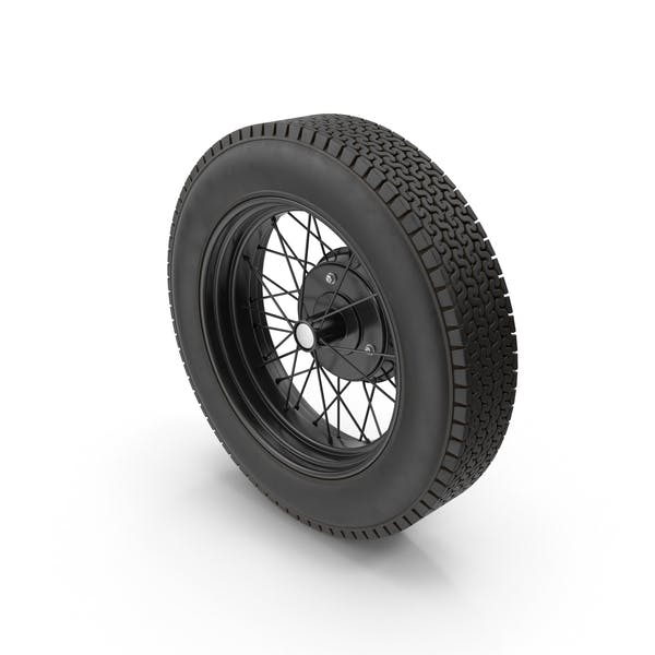 Cover Image for Vintage Car Wheel