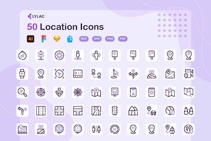 Lylac - Location Icons
