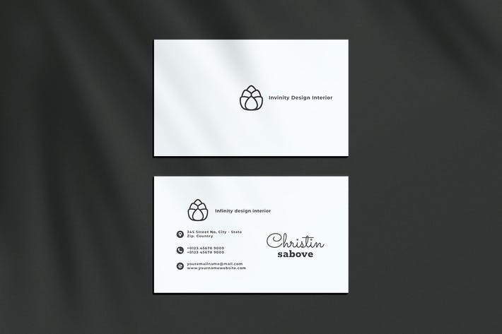 Thumbnail for Business Card Home Interior