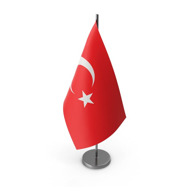 Table Flag Turkey