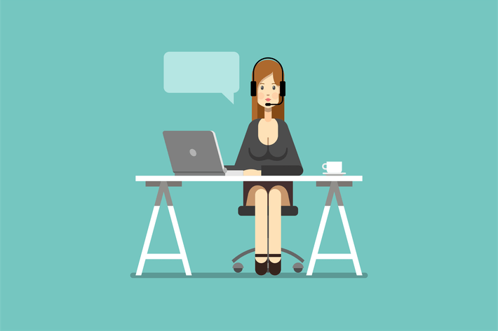 Thumbnail for Business Woman Working in Office Support
