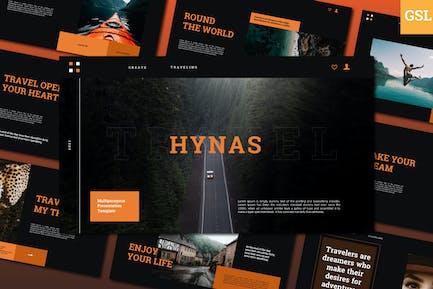 Hynas Google Slide Template