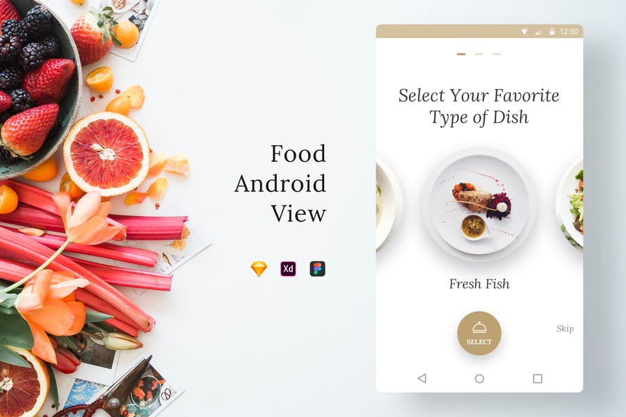 Food Android View