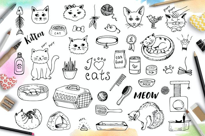 Thumbnail for Doodle Cats and Pet Accessories