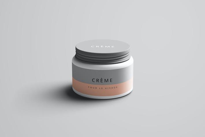 Cover Image For Cream Jar Mockup