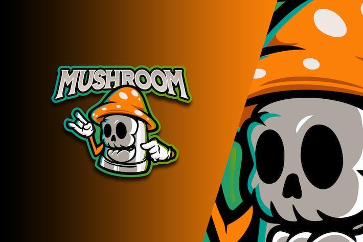 Thumbnail for Mushroom Esport Logo Vol. 3