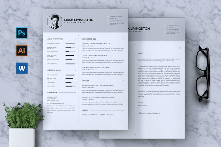 Corporate Lawyer CV Resume
