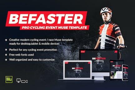 BeFaster - Sitio web del evento de ciclismo de montaña