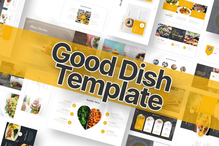 Good Dish Powerpoint Template