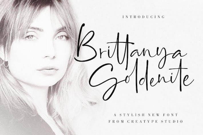 Thumbnail for Brittanya Goldenite Stylish Handwritten