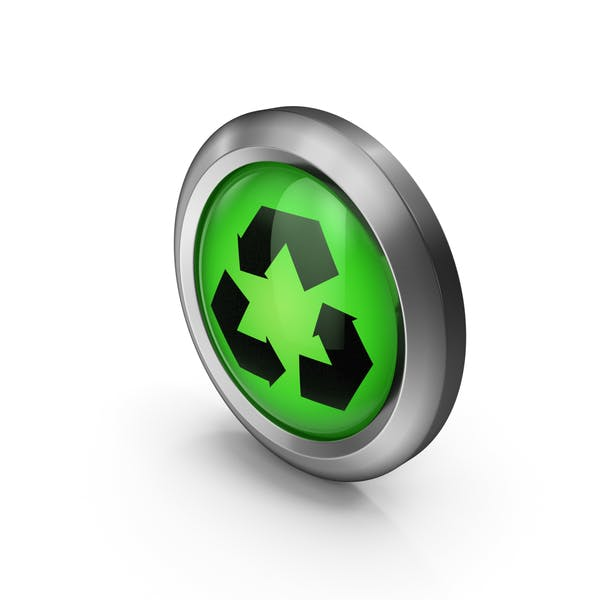 Thumbnail for Green Recycling Icon
