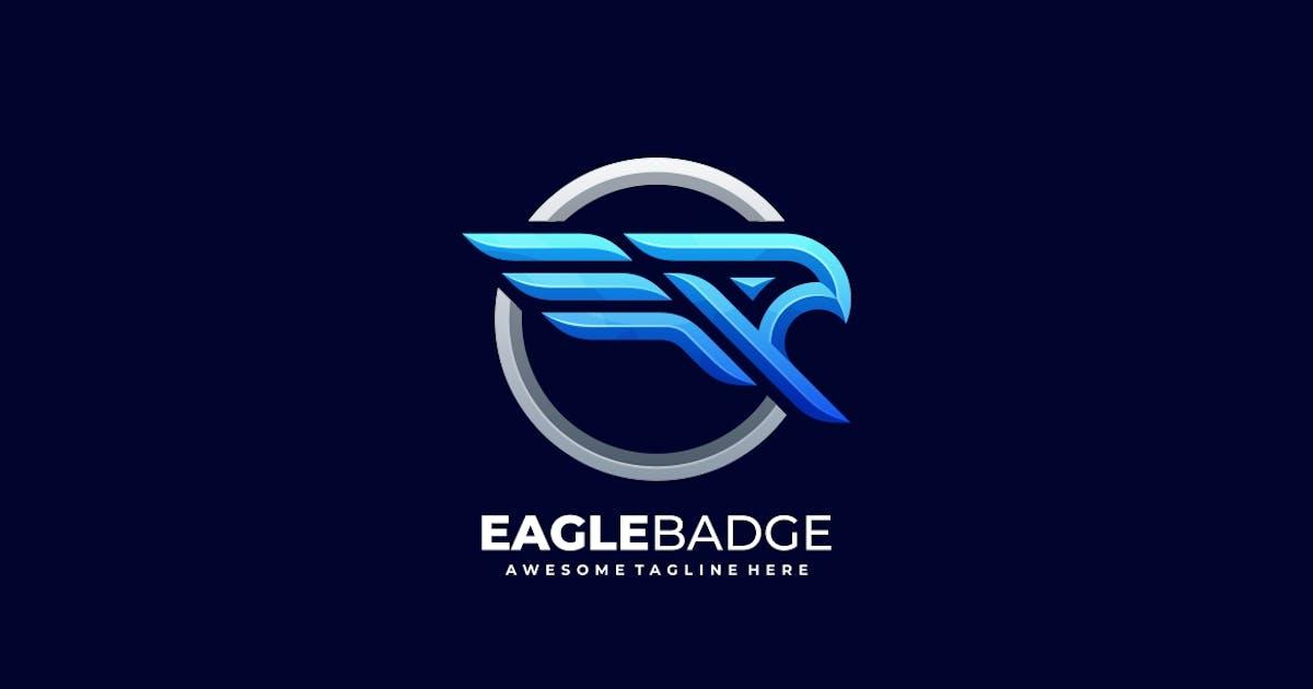 Download Eagle Badge Bold Logo Template by ivan_artnivora