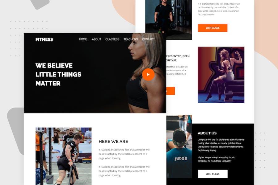 Fitness - Email Newsletter
